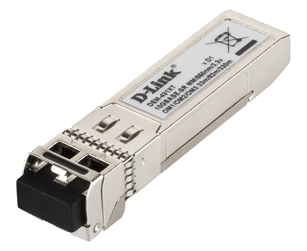 LC Multi-Mode Transceiver Module DDM, 850nm, 300m 10GBase-SR Module for D-Link DEM-431XT-DD 6COM 10 Gigabit SFP