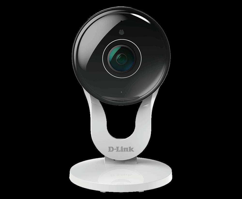 DCS Pan and Tilt Indoor 1080p Wi-Fi Network Surveillance Camera White D-Link