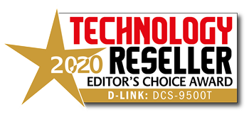Technology Reseller Editor's Choice Award for DCS-9500T