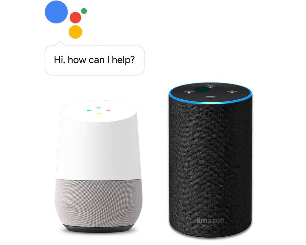 Supports the Google Assistant and Alexa