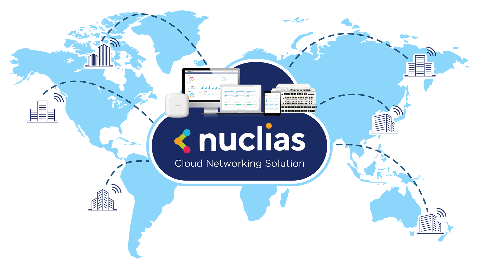 Nuclias Cloud - Cloud networking, easy and simple, as it should be