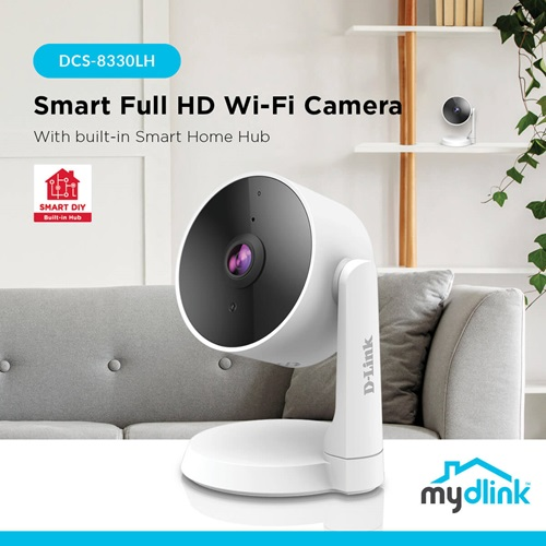 D-Link Presents Camera with AI-based IVA Features