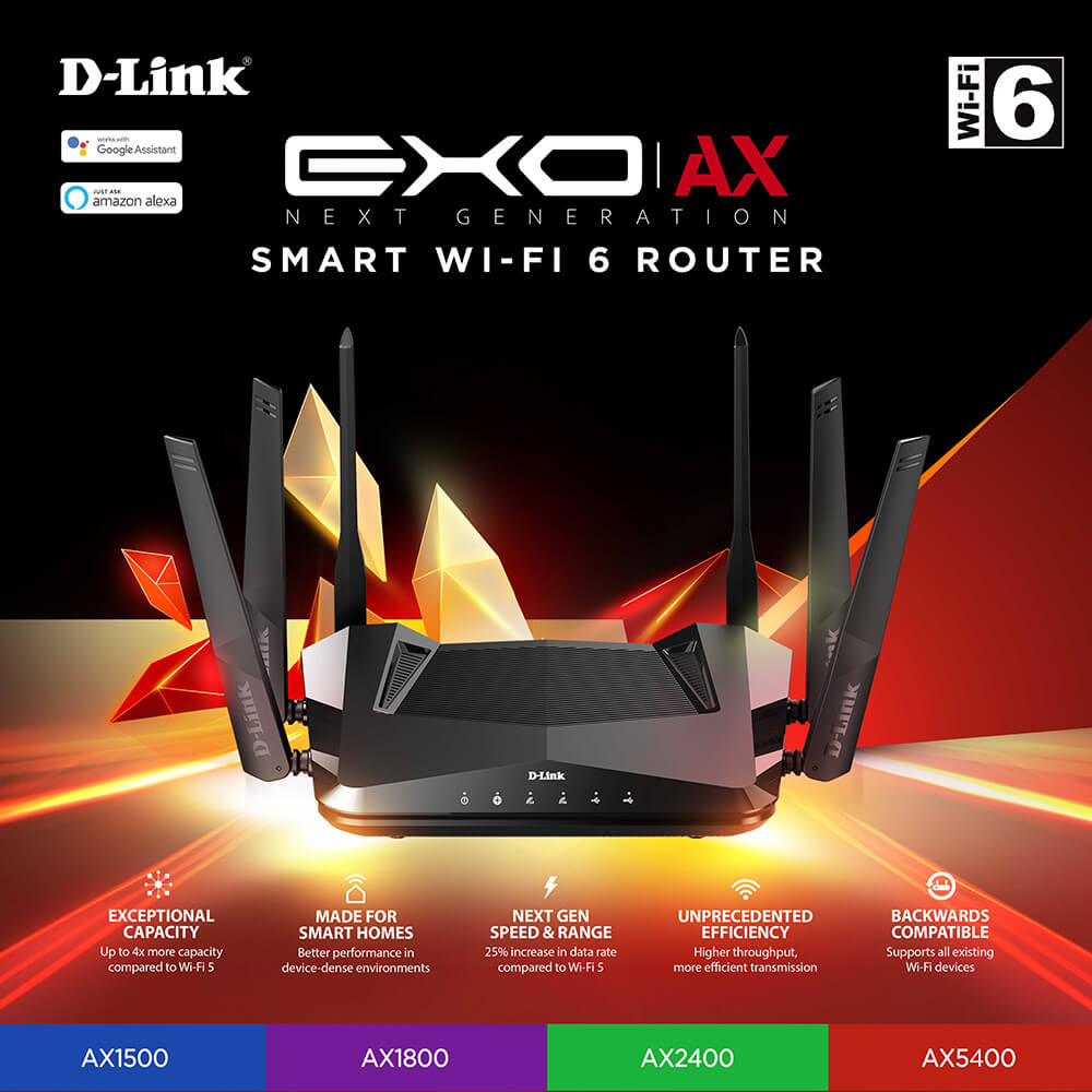 D-Link Presents the Future of Wi-Fi Connectivity with Mesh and Wi-Fi 6 Solutions at CES 2020