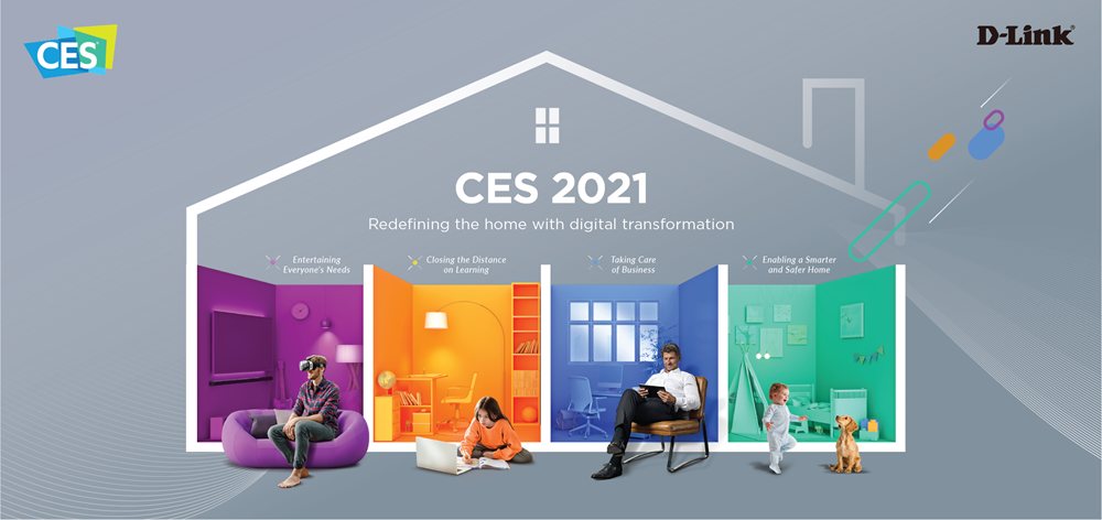 D-Link at CES 2021