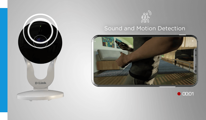 sound and motion detection