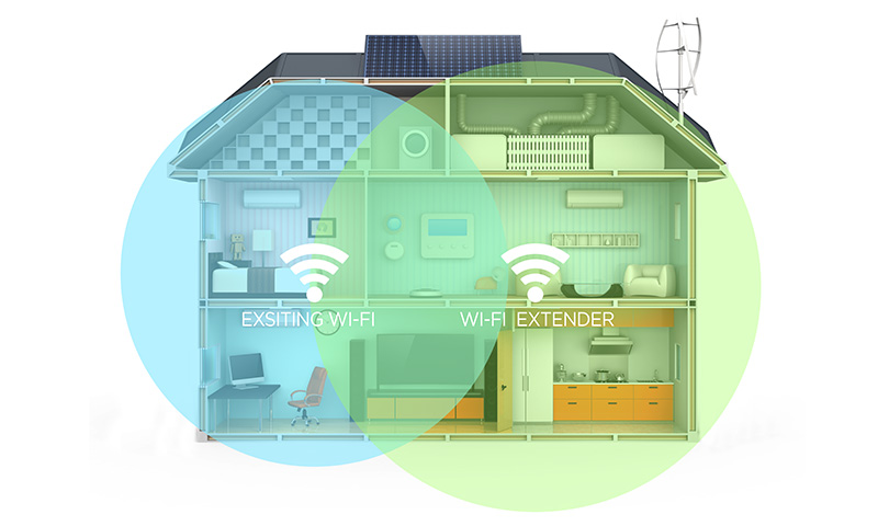 Inicio Diagrama Extensor de Wi-Fi