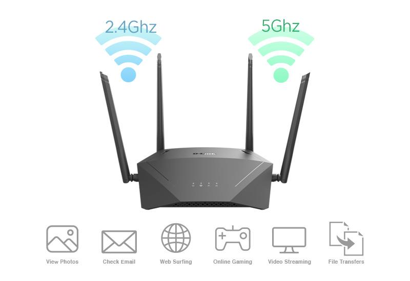 DIR-1750-2.5Ghz-5Ghz