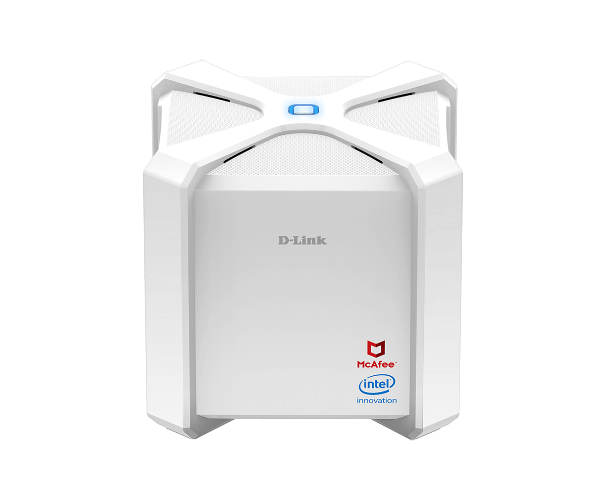 DIR-2680 AC2600 Wi-Fi Router Powered by McAfee